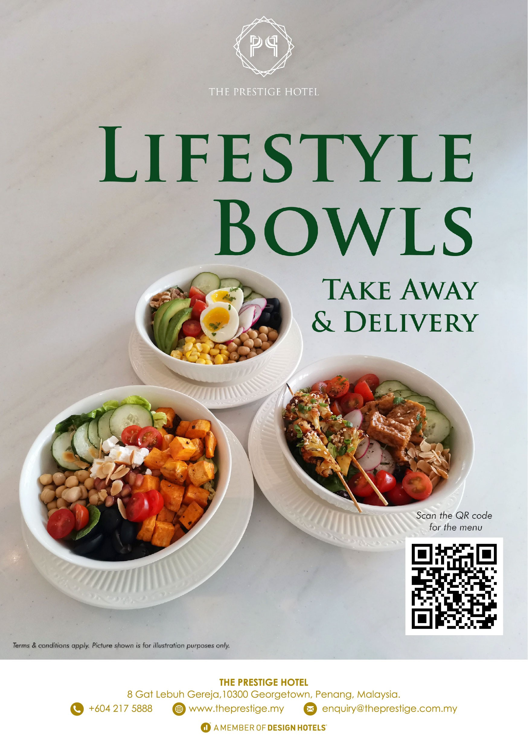 Lifestyle Bowls  by The Prestige Hotel Penang