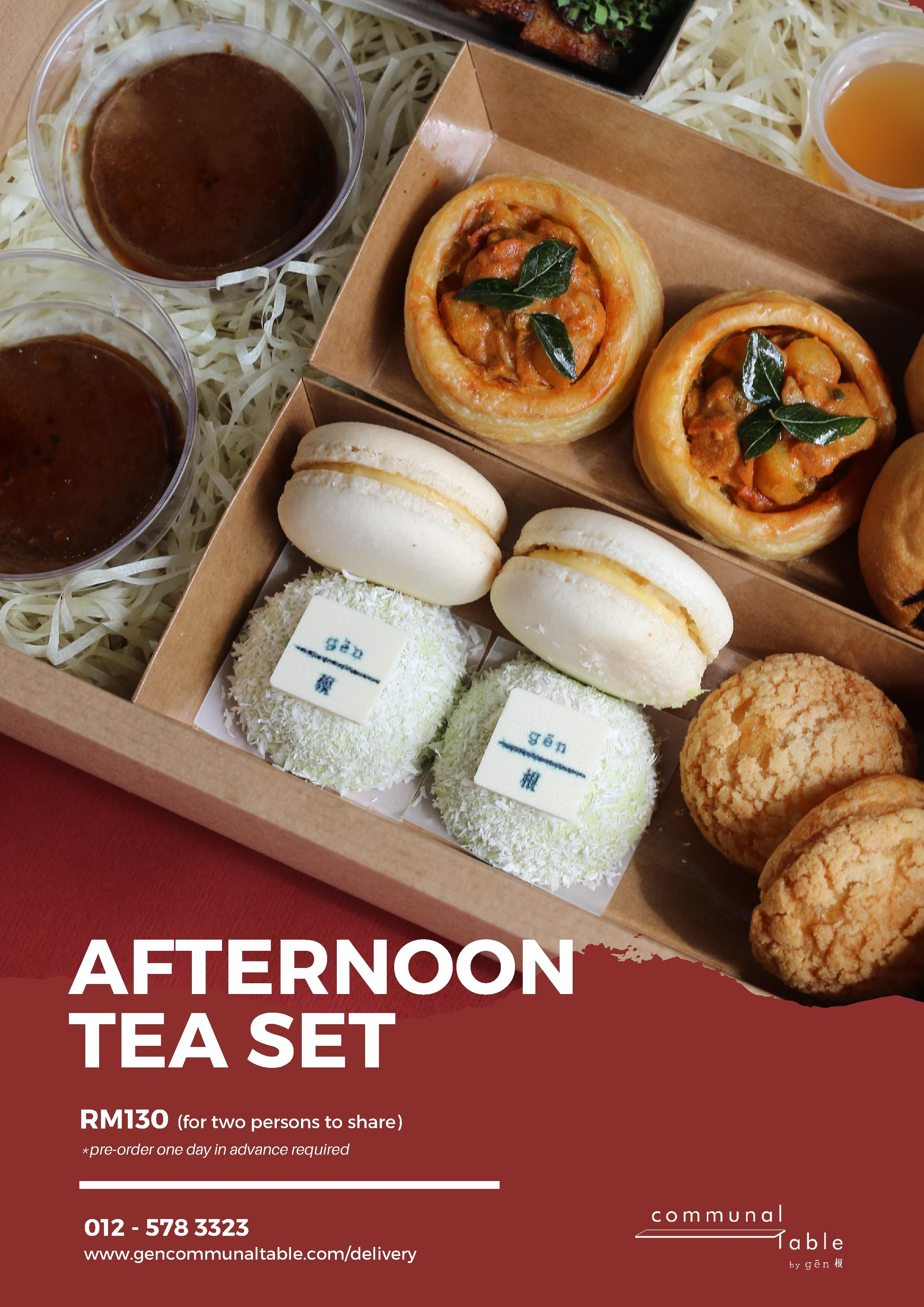 Afternoon Tea Set Communal Table by Gēn 根