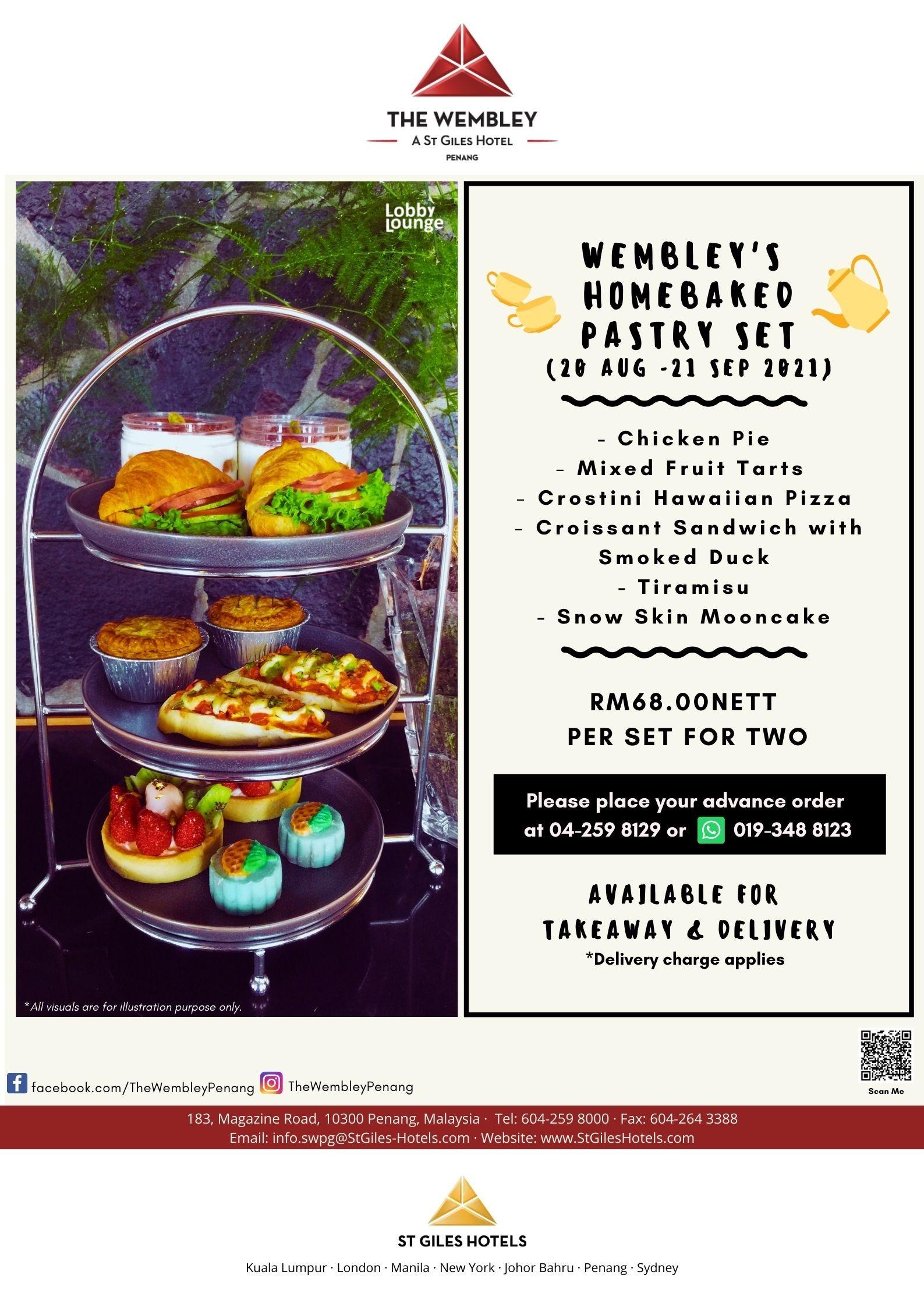 Wembley's Homebaked Pastry Set