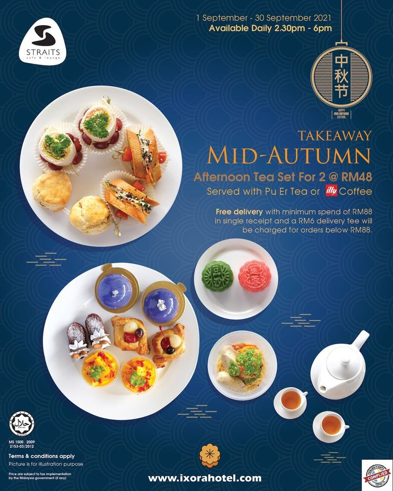 Mid Autumn Afternoon Tea Set  by Ixora Hotel