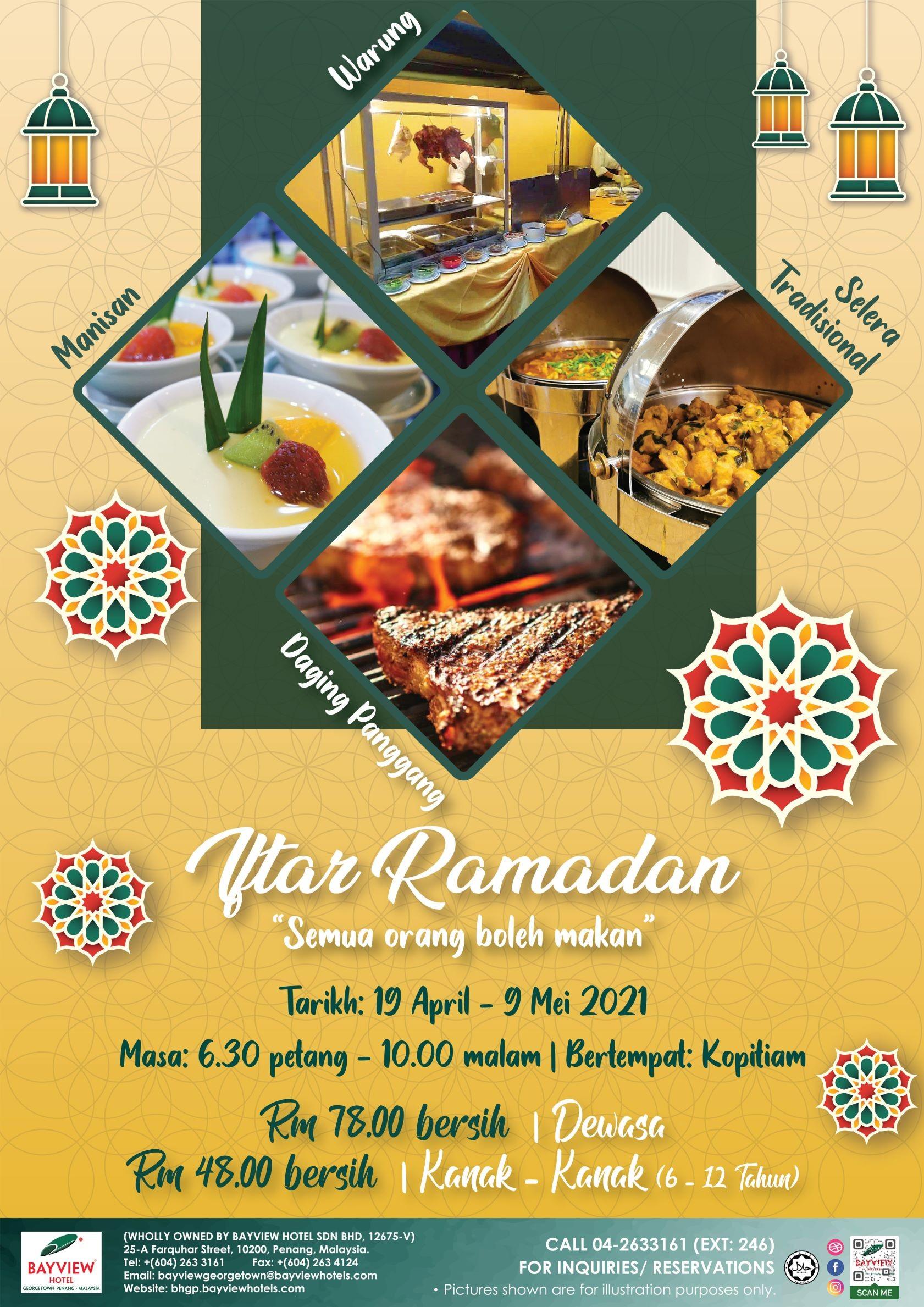 Iftar Ramadan Semua Orang Boleh Makan Bayview Hotel Georgetown