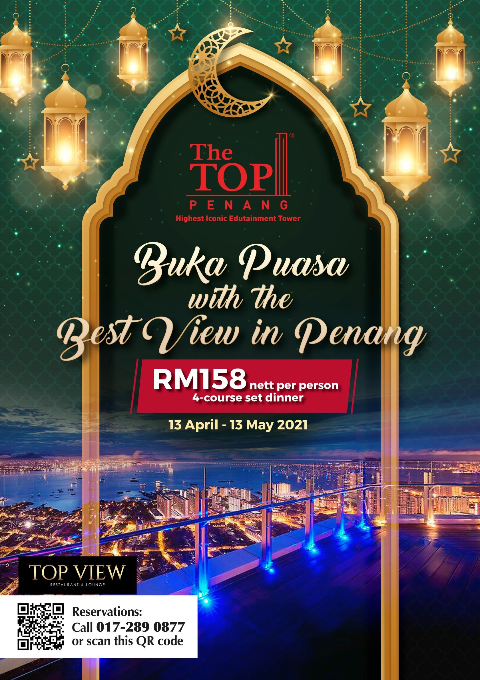 Buka Puasa with The Best View in Penang  The Top Penang