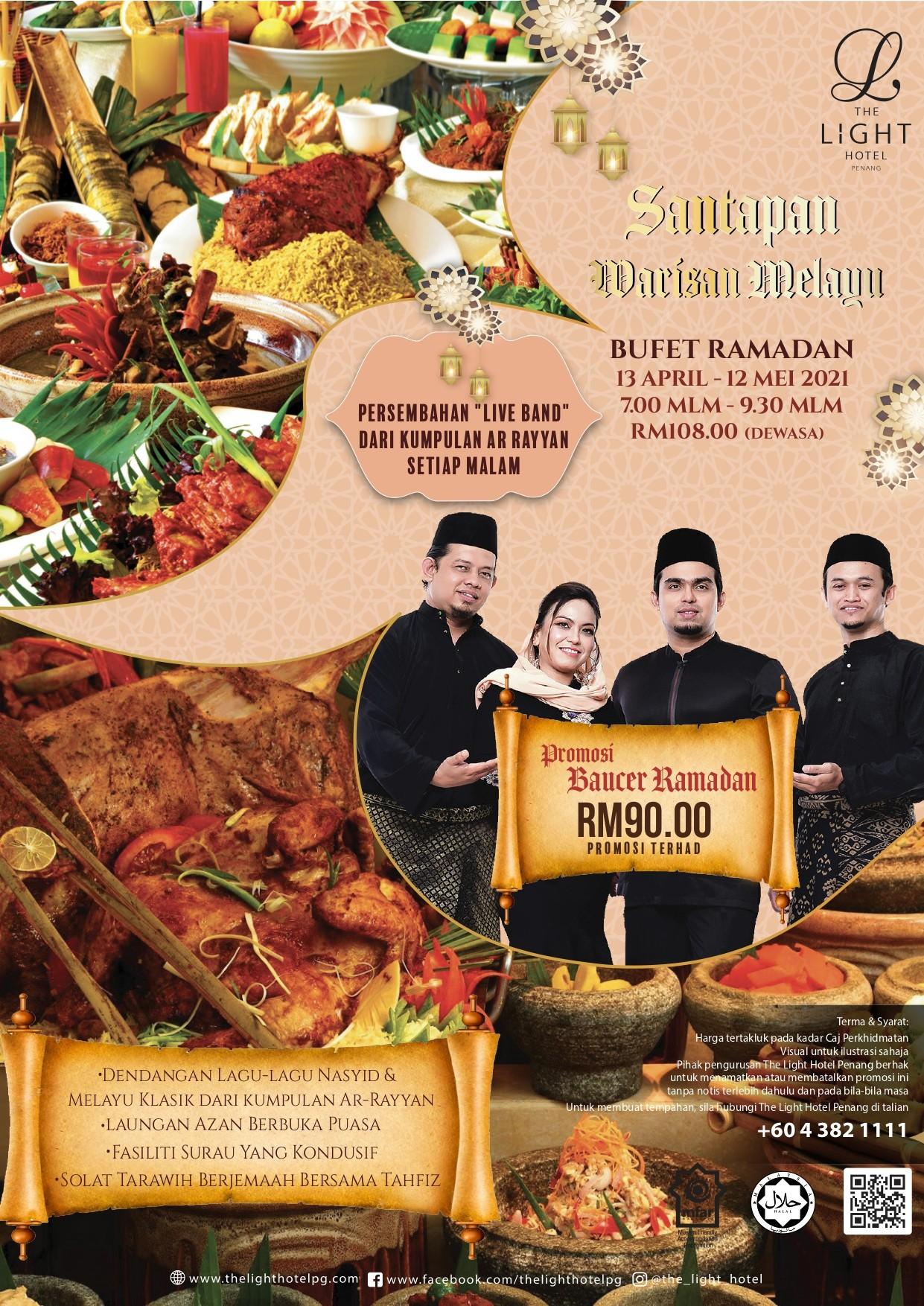 Santapan Warisan Melayu Buffet Ramadan by The Light Hotel