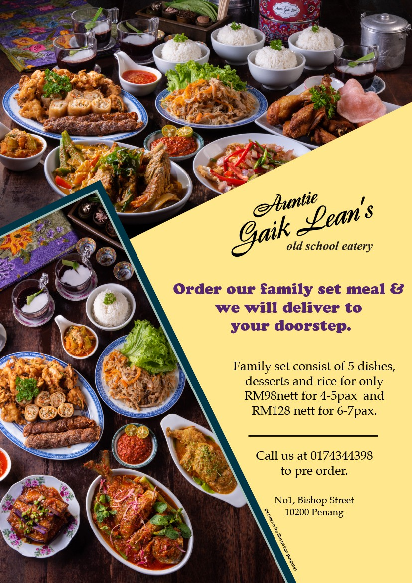 Family Set by Auntie Gaik Lean's Old School Eatery