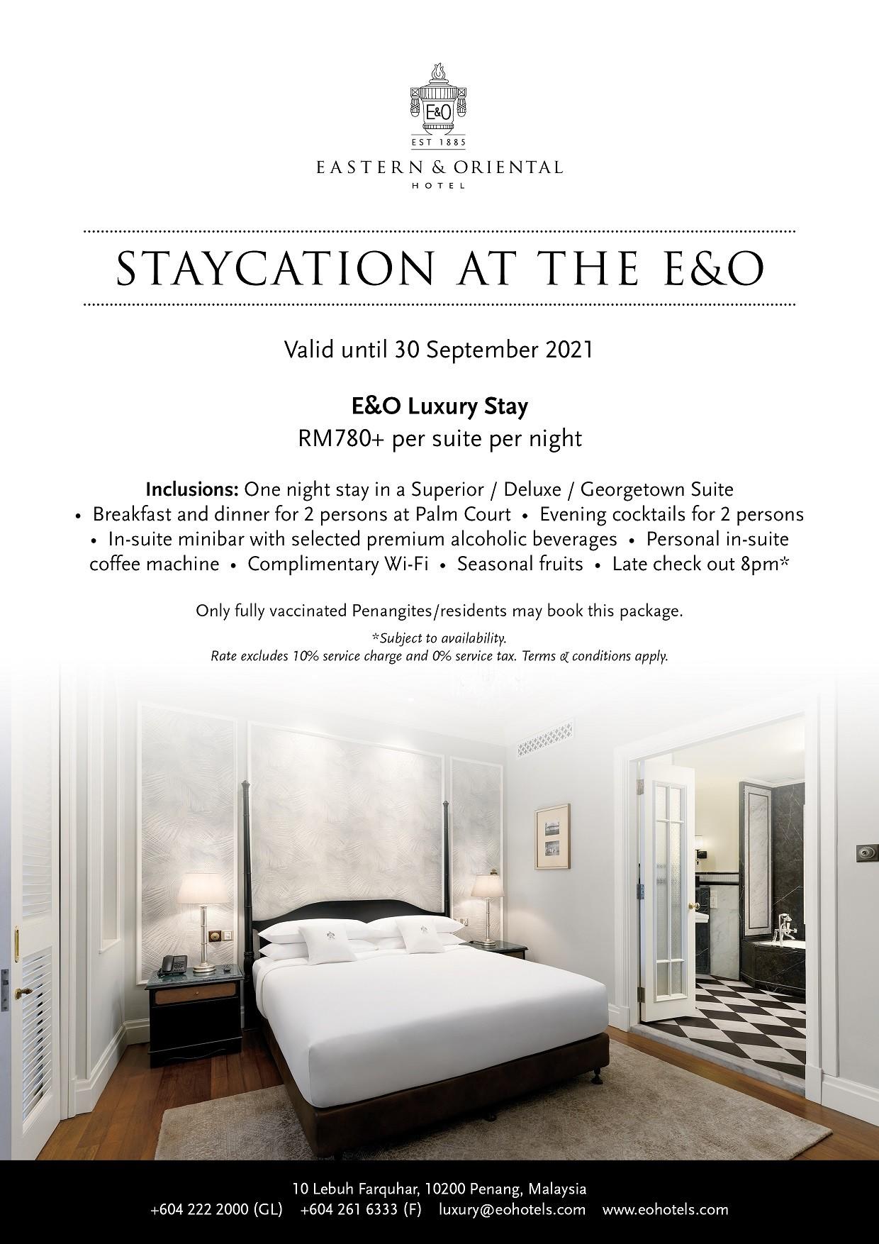 E&O Luxury Stay