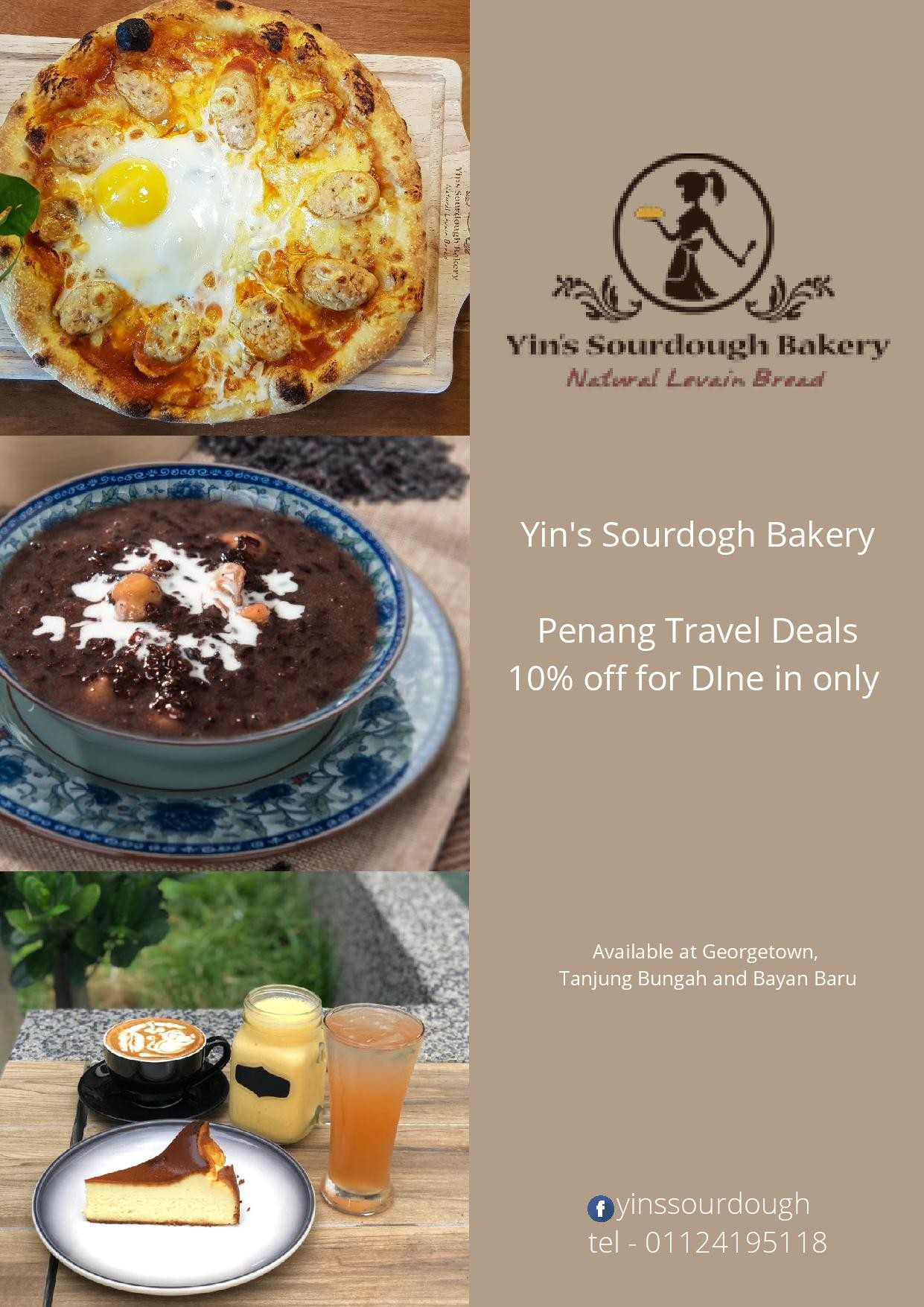Yin's Sourdough Bakery and Cafe