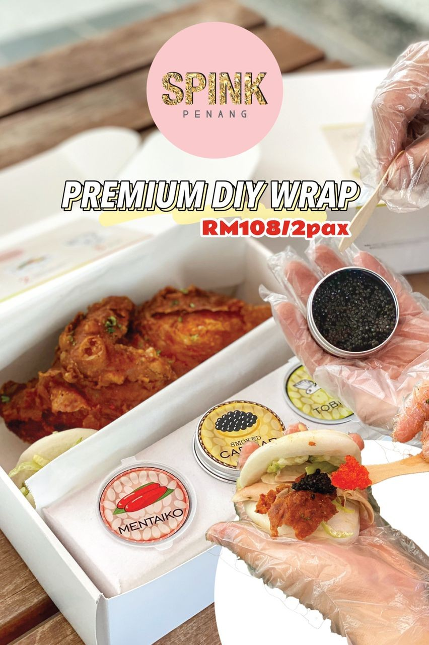 Premium DIY Wrap by Spink Restaurant