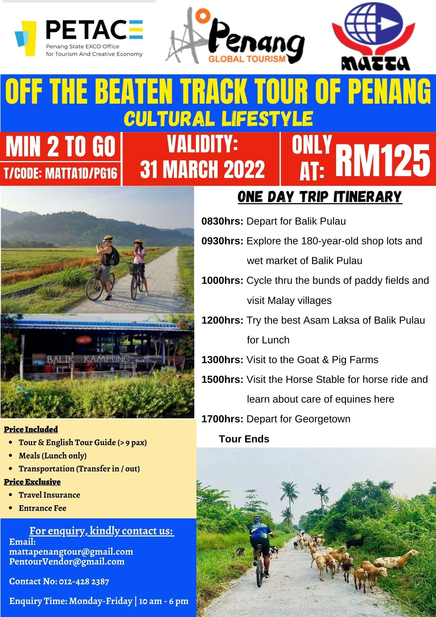 Off The Beaten Track Tour of Penang