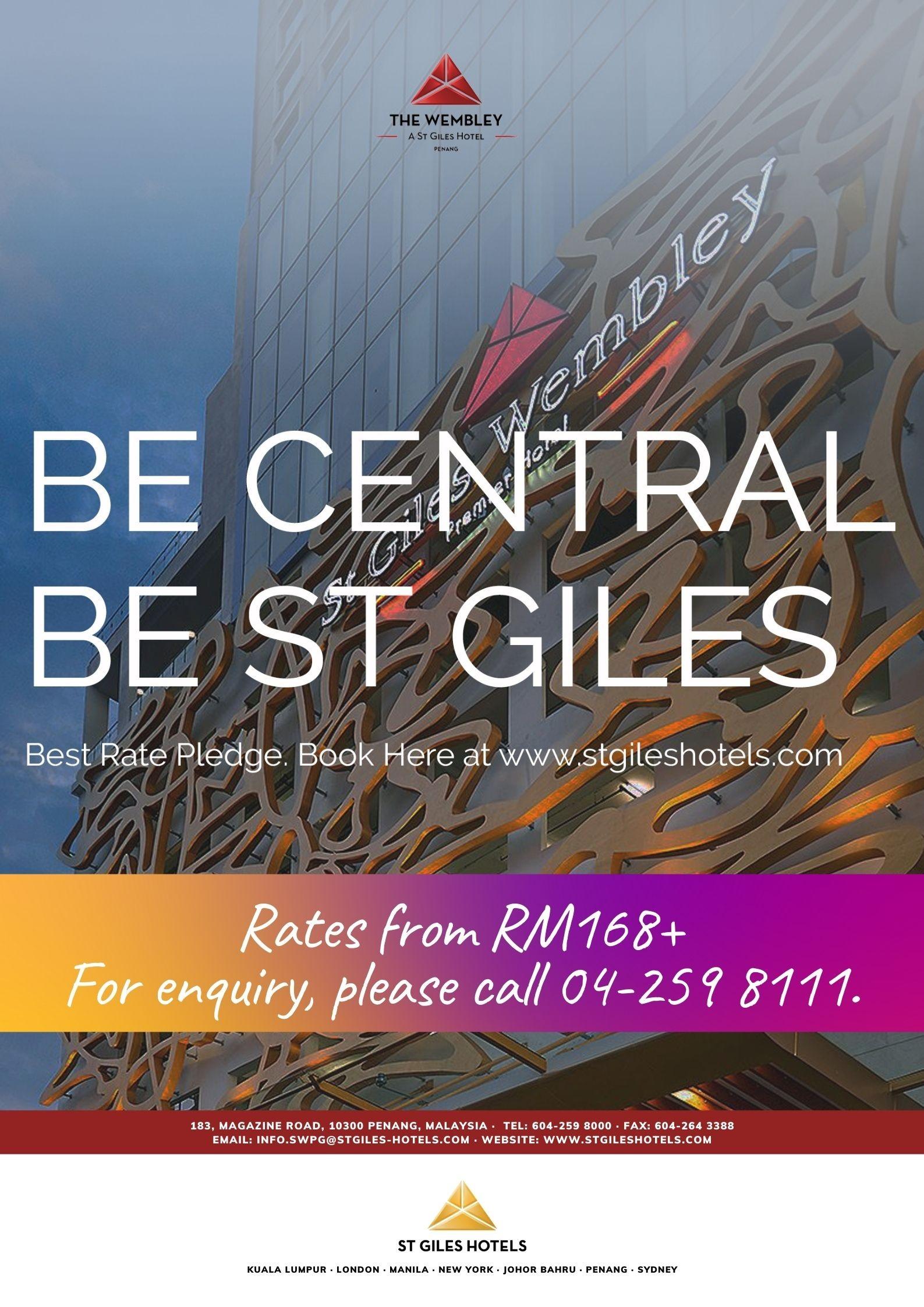 The Wembley - St Giles Hotel Penang
