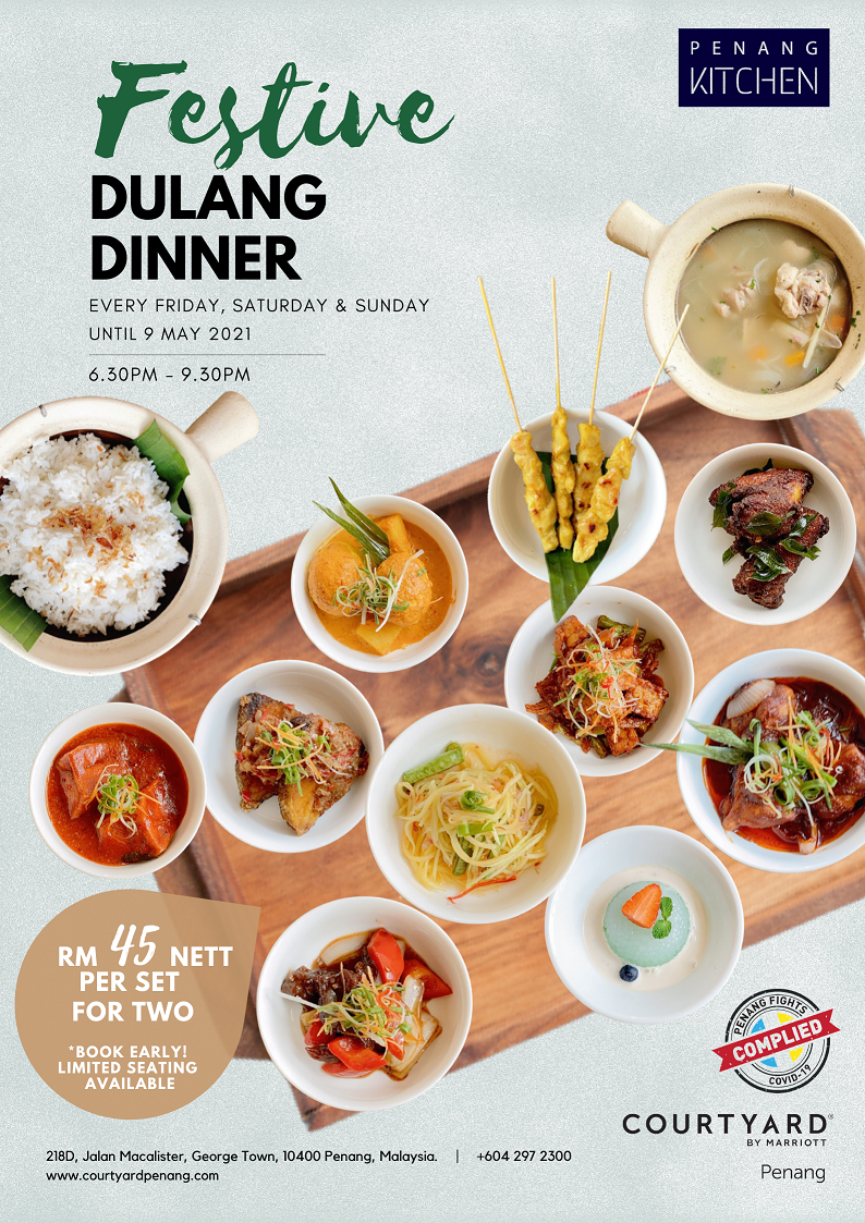 Festive Dulang Dinner by Courtyard by Marriott Penang