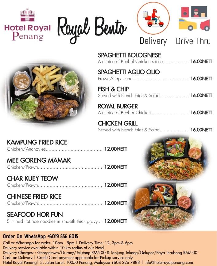Royal Bento by Hotel Royal Penang