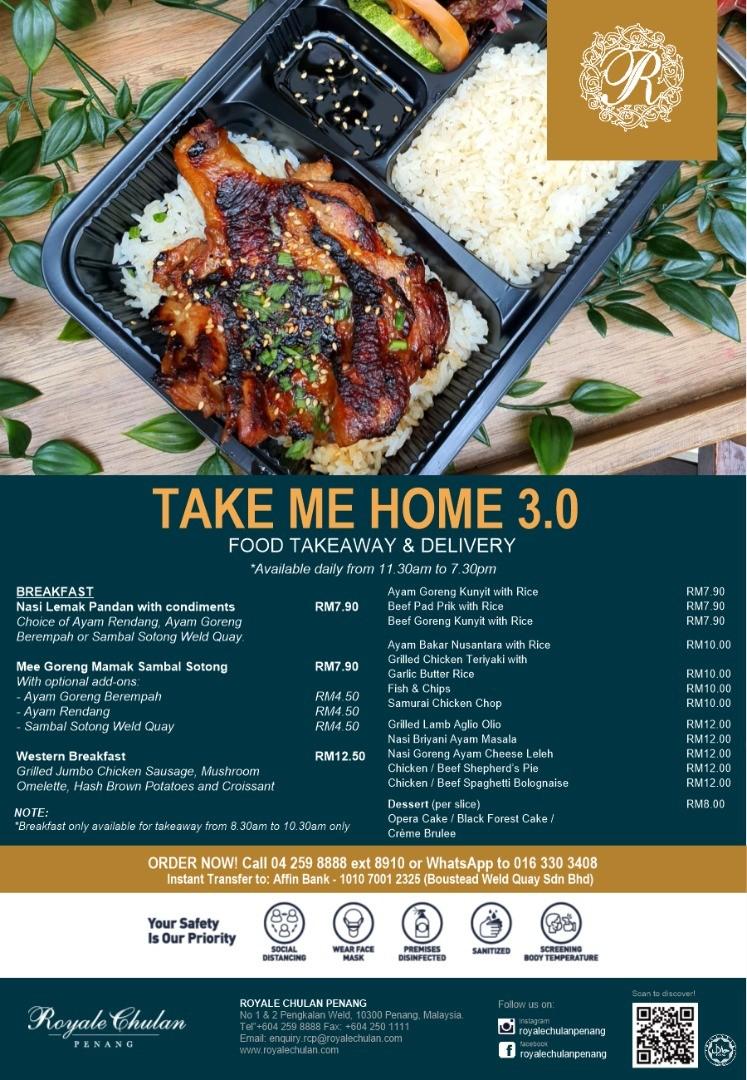 Take Me Home by Royale Chulan Penang