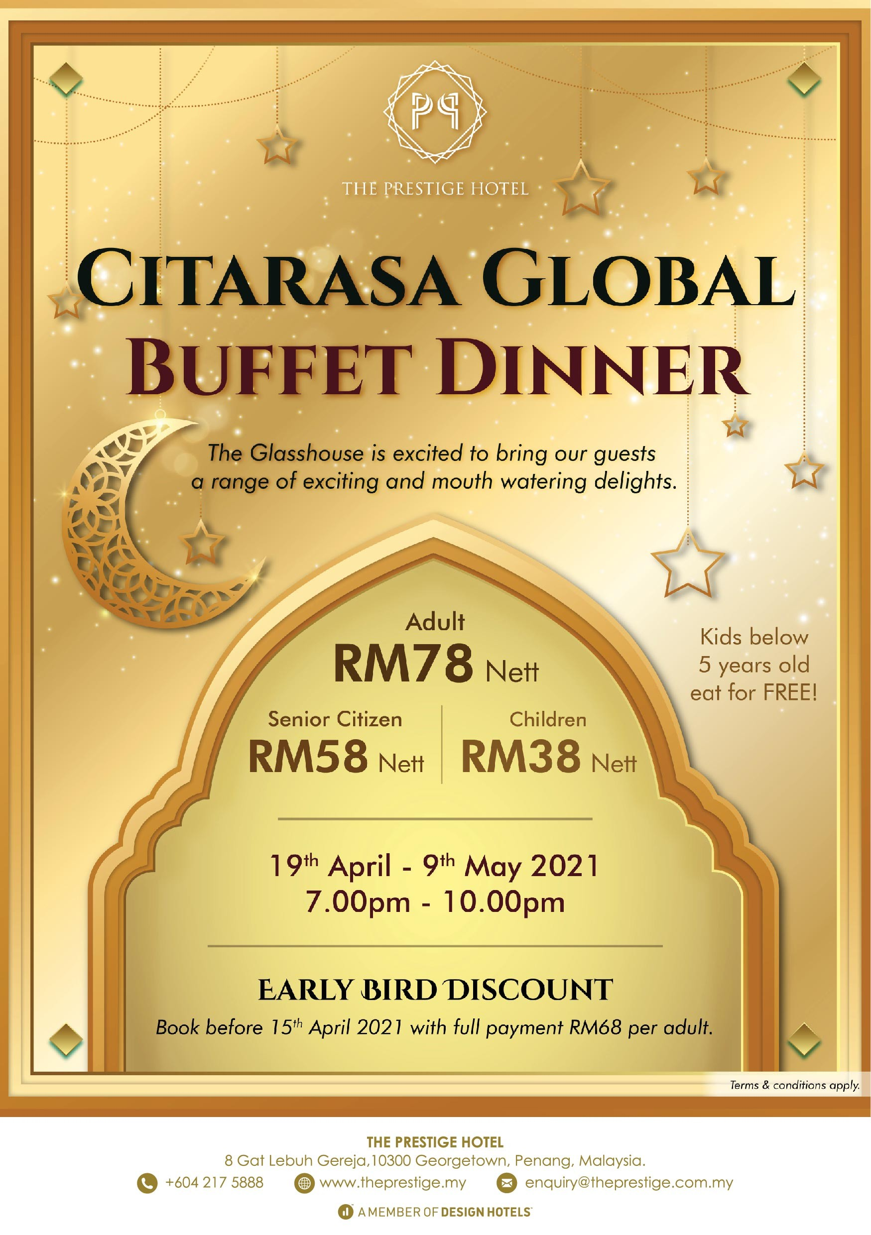 Citarasa Global Buffet Dinner The Prestige Hotel