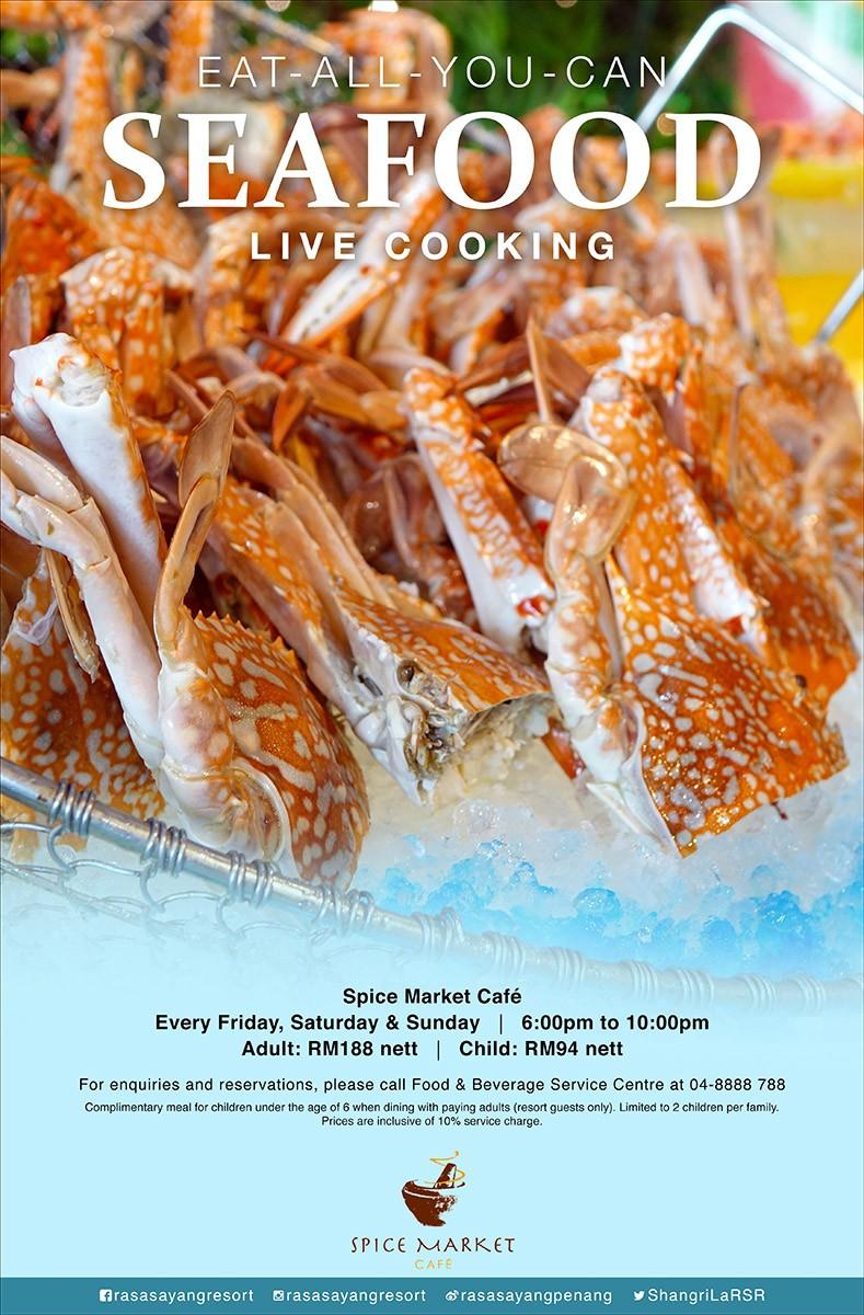 Shangri-La's Rasa Sayang Resort & Spa Penang: Eat-All-You-Can