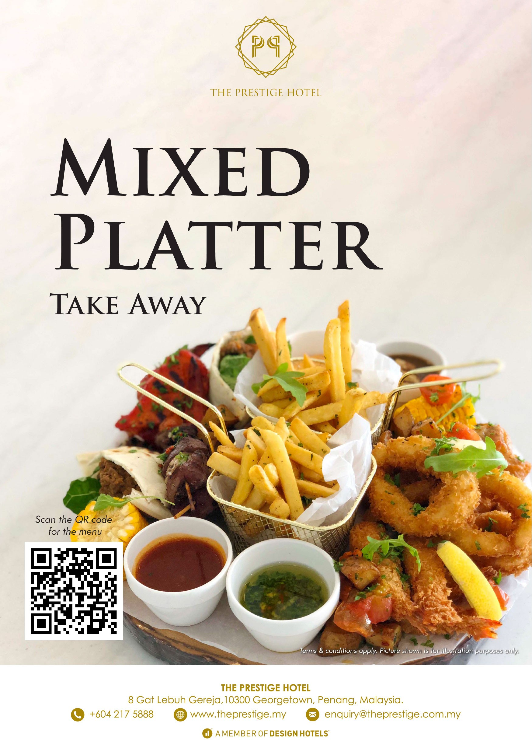 Mixed Platter Take Away by The Prestige Hotel Penang