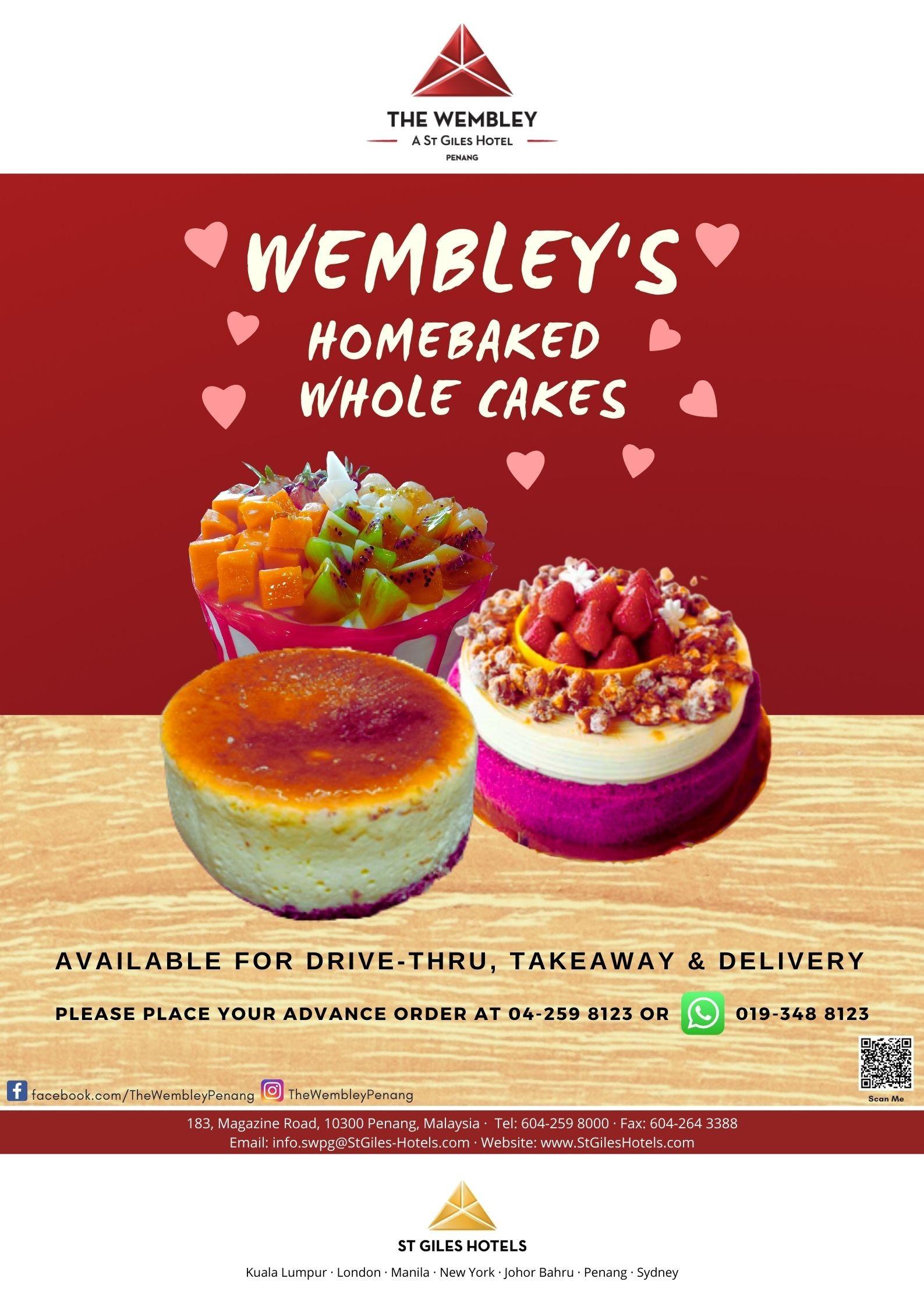 Wembley's Homebaked Whole Cakes