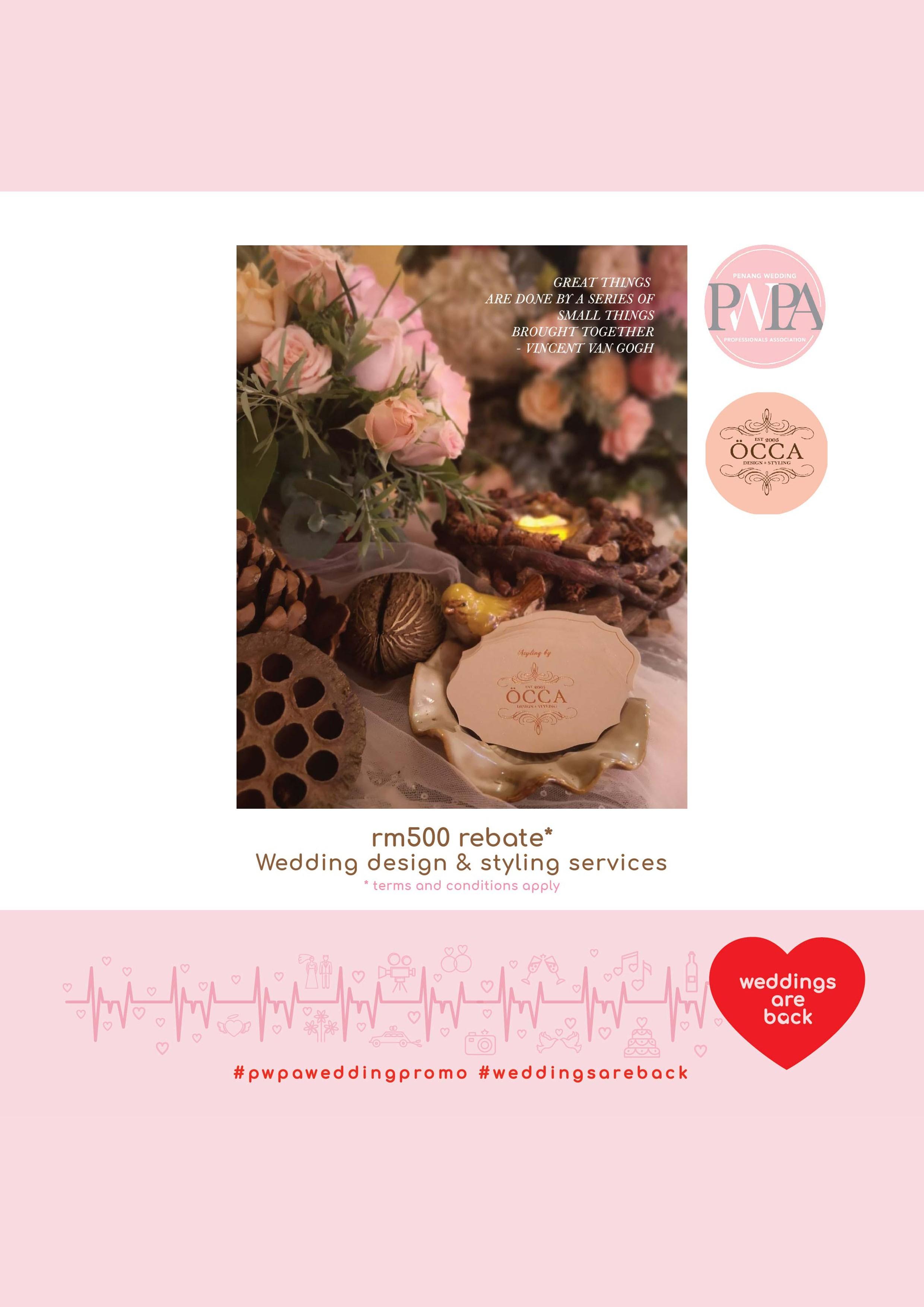 OCCA Wedding & Event Designer