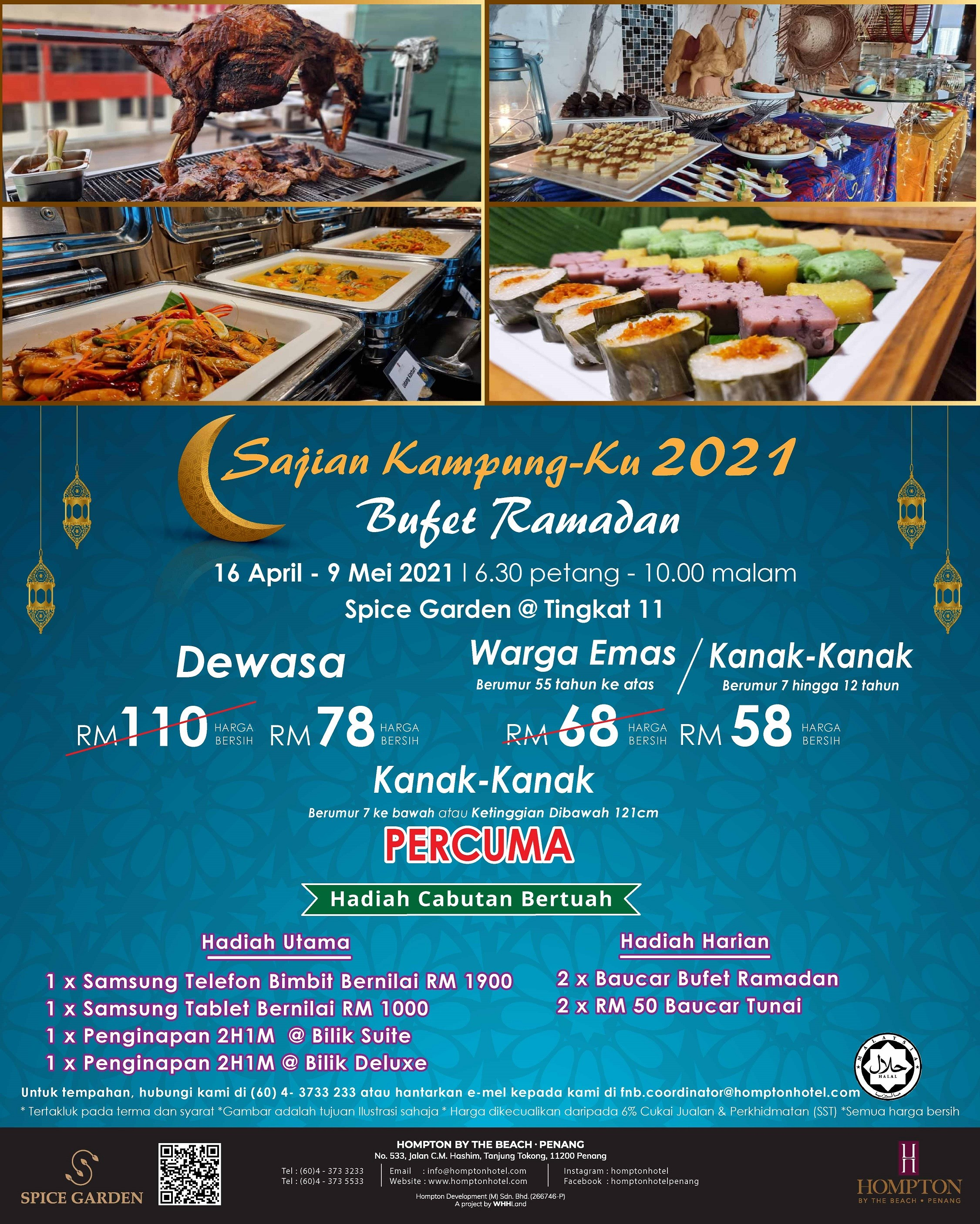 Ramadan Buffet  Hompton by the Beach Penang