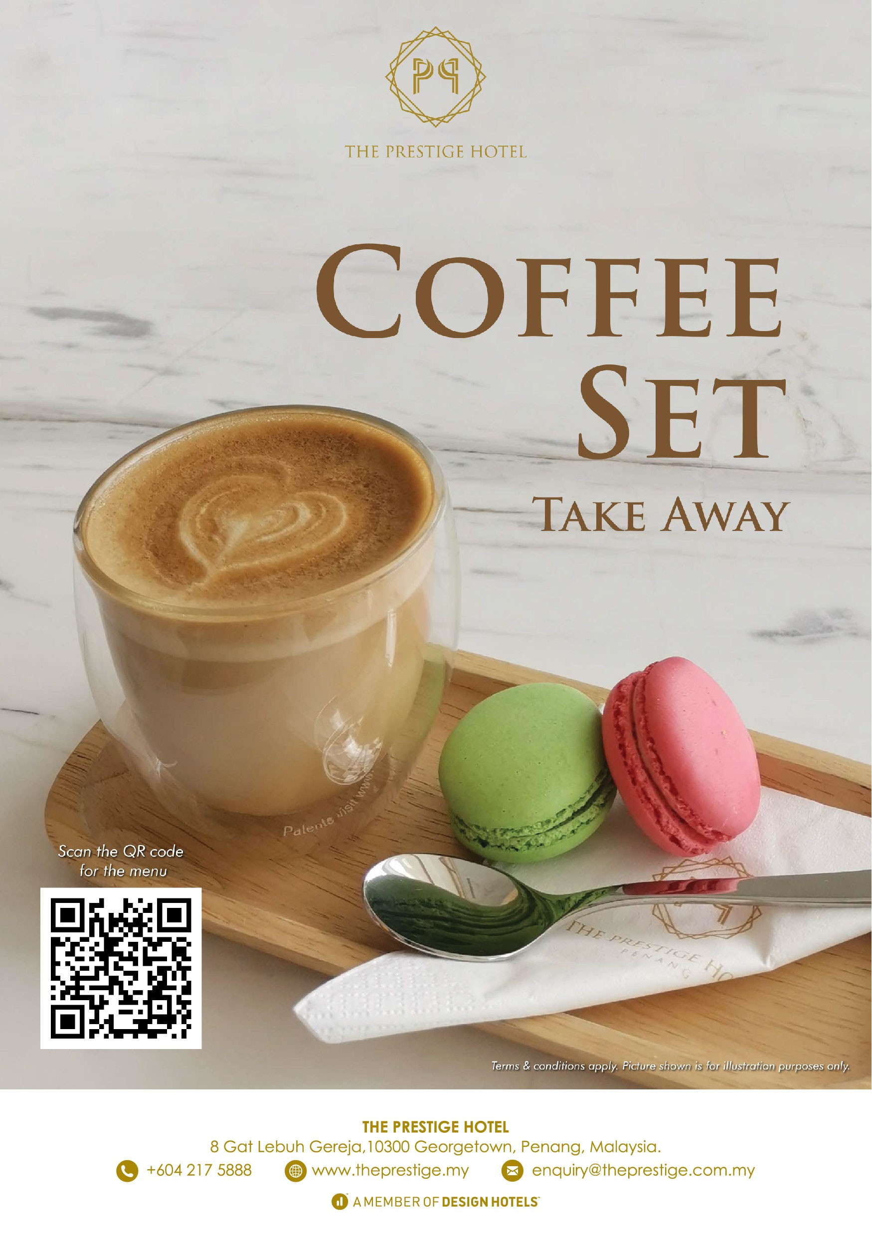 Coffee Set  by The Prestige Hotel Penang