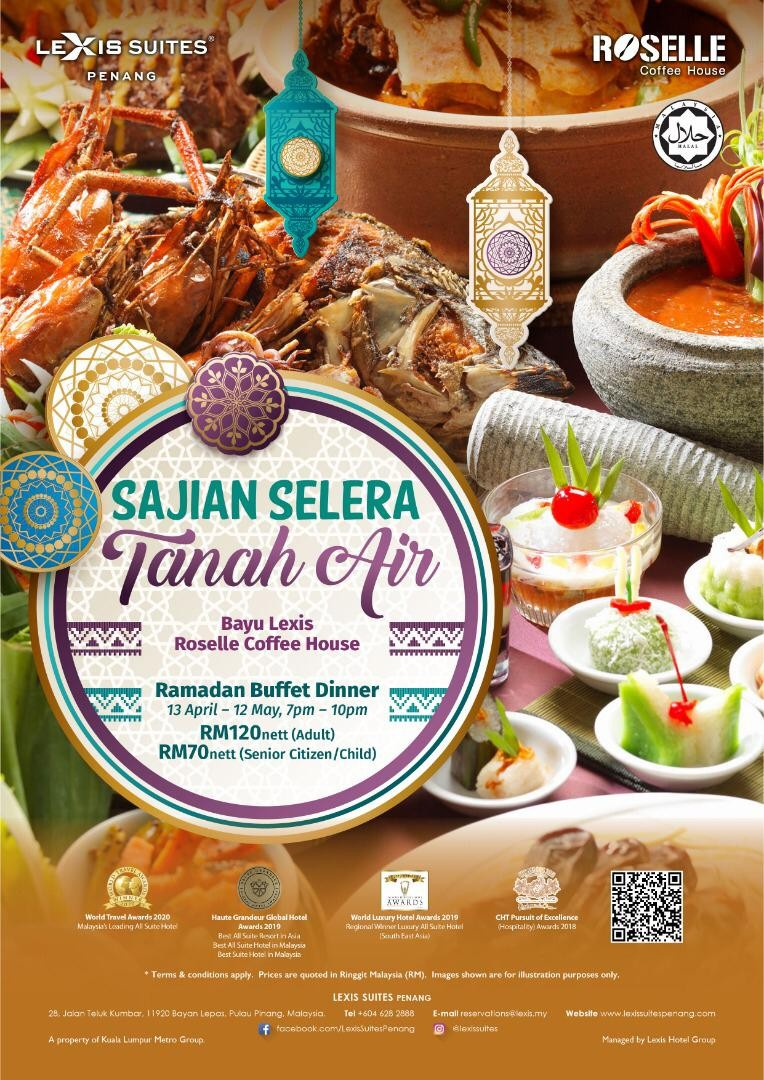 Sajian Selera Tanah Air Buffet by Lexis Suites Penang