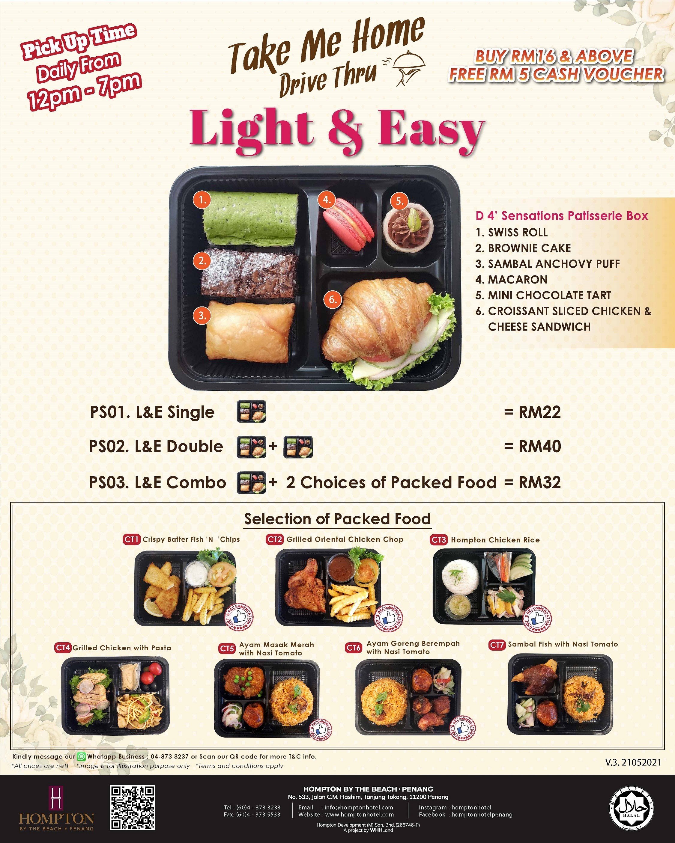 Light and Easy by Hompton by the Beach Penang